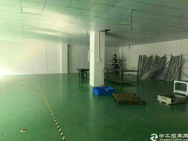 观澜福民新出楼上1000平米带精装修厂房出租-图4