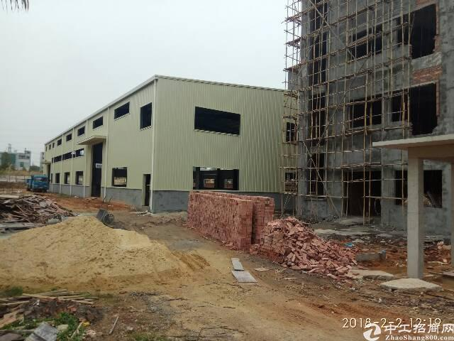 茶山镇原房东独门独院钢构厂房2500平方