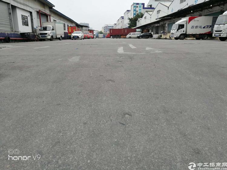 龙华中心区标准物流仓15000平 带卸货平台 空地大