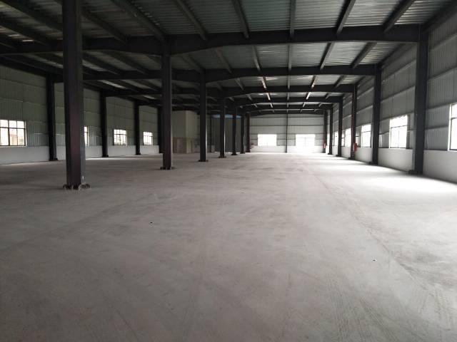 高速出口全新钢构仓库6000平米带装修厂房分租