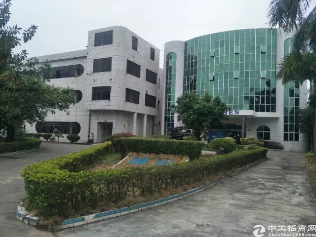 清溪高端大气工业园独栋钢构厂房6000平方招租可分租-图5