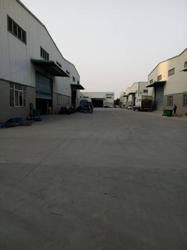 广东新塘镇出租单一层物流仓15000平米在建可预订
