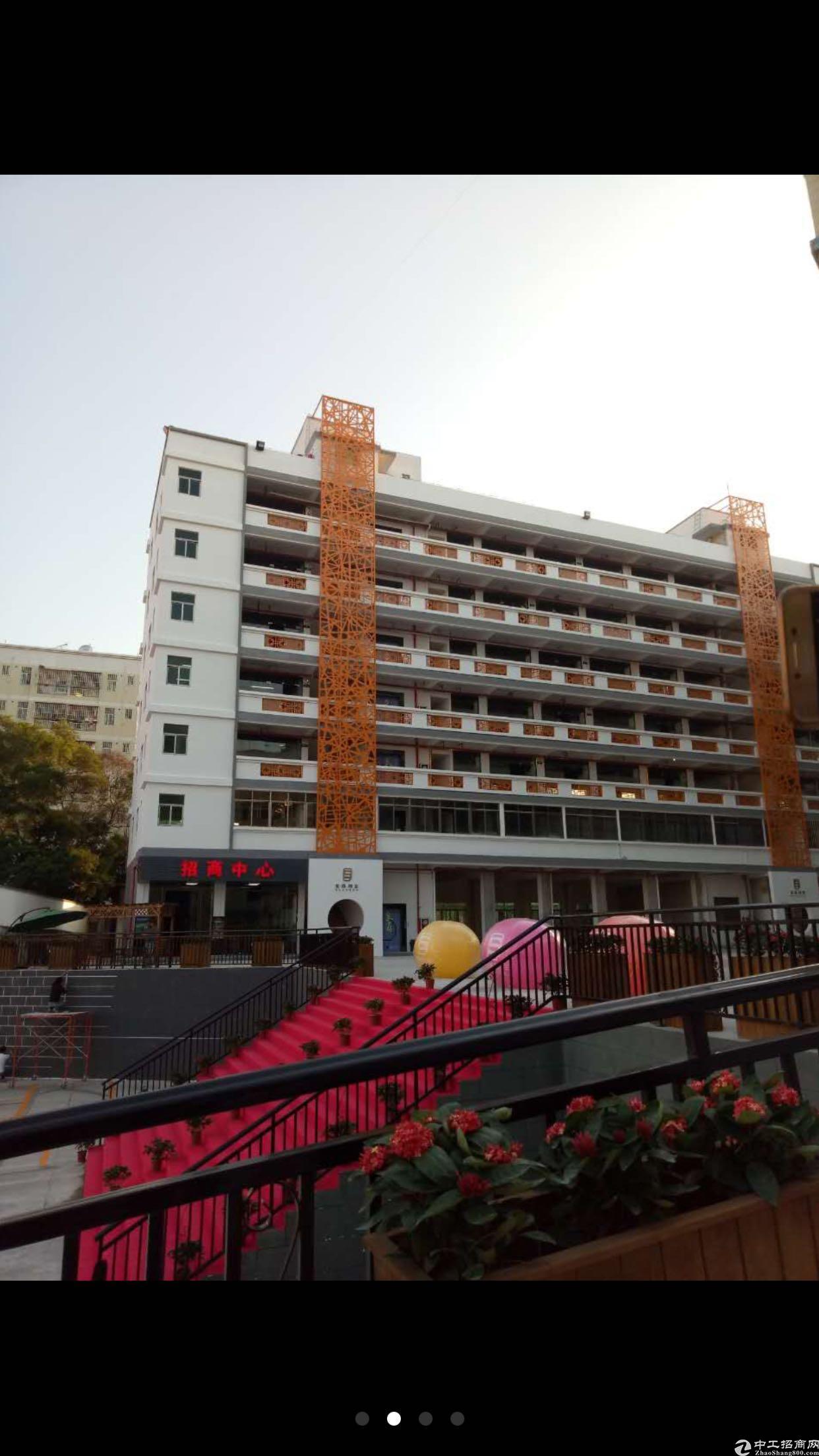 龙华龙胜地铁站附近新出豪华装修厂房出租