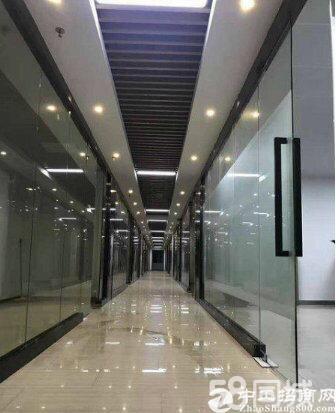 宝安松岗地铁口物业甲级写字楼268平方米带空中花园业主直租
