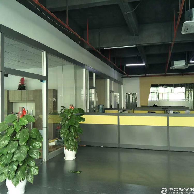 龙华清湖带红本高新技术园优质厂房3楼2480平方米,带精装修