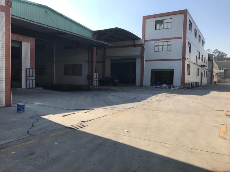 大岭山镇杨屋村新出独门独院单一层钢构厂房6500平米招租