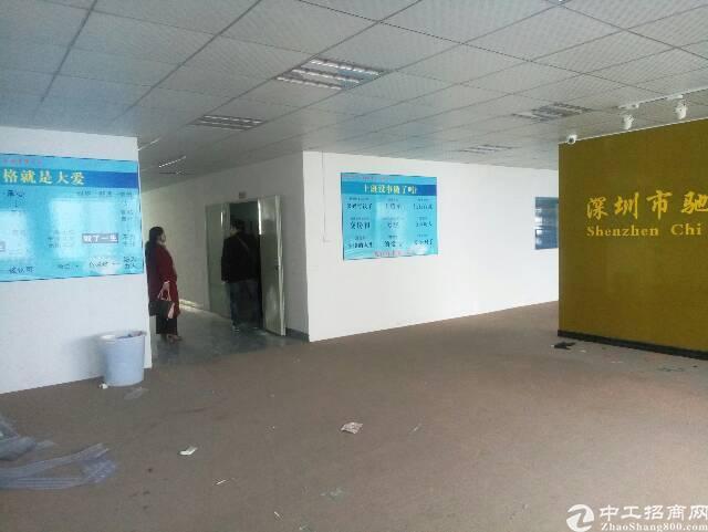 横岗六约塘坑地铁站1350平带装修厂房出租可分租-图2