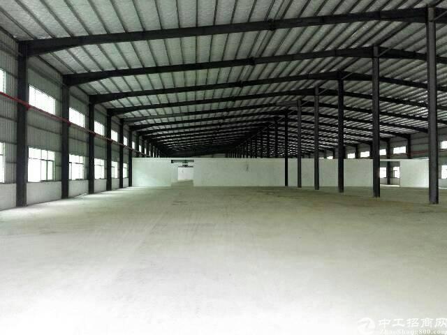 惠州博罗石湾独院单一层独院厂房10000平方