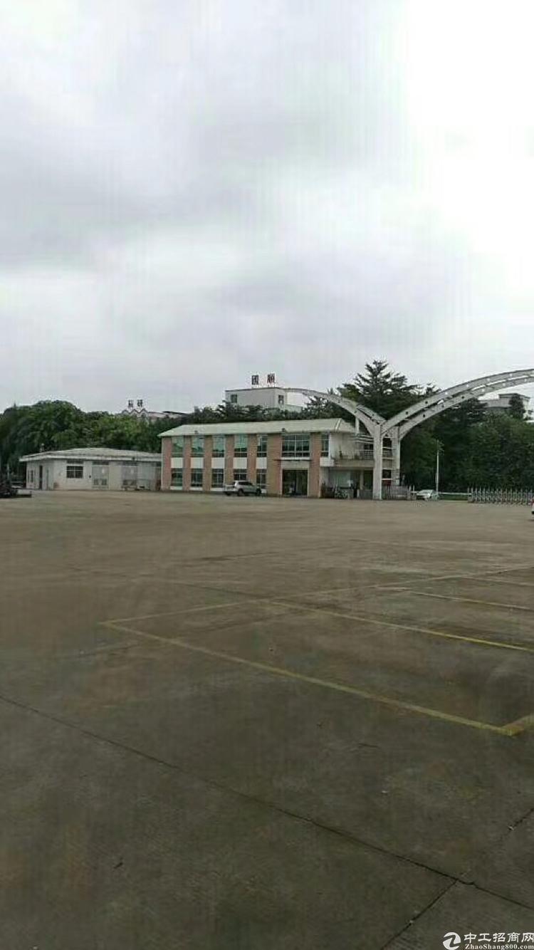 新出原房东靓厂房高埗镇工业区分租2楼标准厂房4200平
