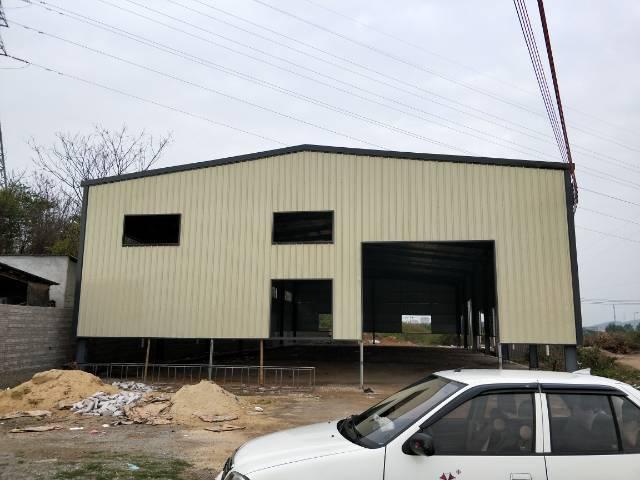 企石镇新岀原房东全新独栋钢构厂房800平方