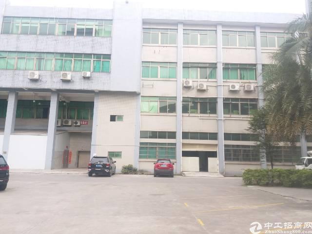 虎门镇南侧五区厂房招租。厂房一楼1800平方。