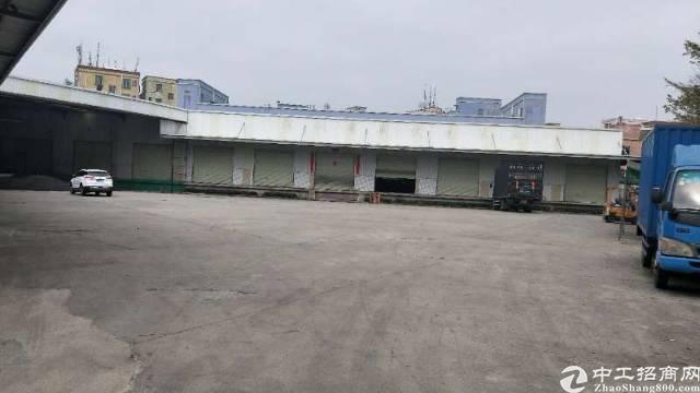 梅观高速出口超大空地2800平方带货台出租