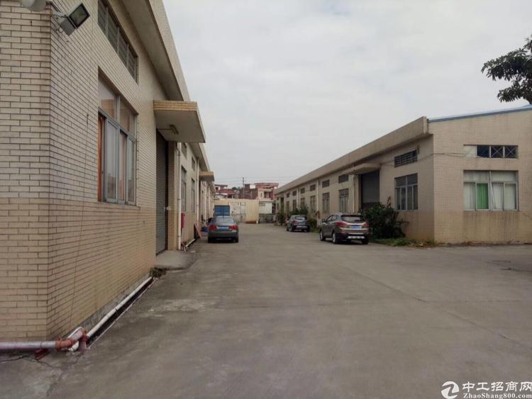 凤岗镇黄洞工业区8米高一层厂房1400平方米带行吊出租