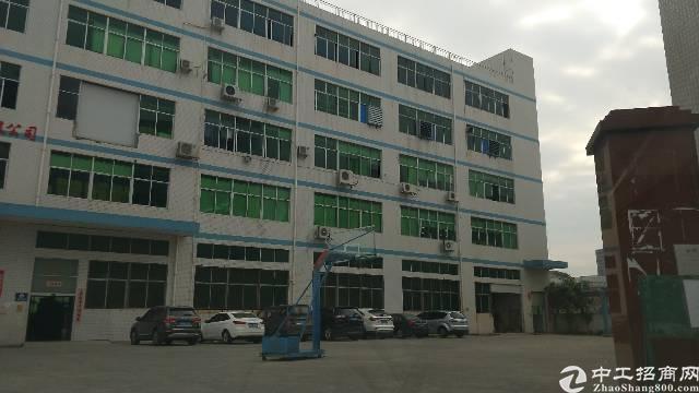 红本实际面积独院厂房1-5层7500平米出租