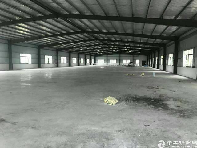 虎门镇本地房东全新钢结构厂房6000平方可分租或整租