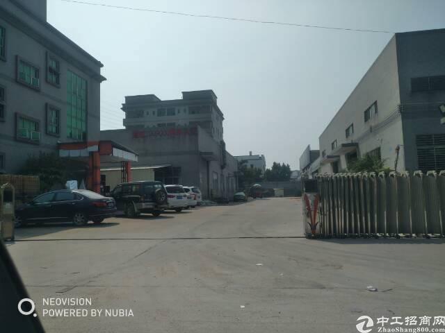 虎门8成新独栋标准厂房两层3200无公摊带装修交通便利人气旺