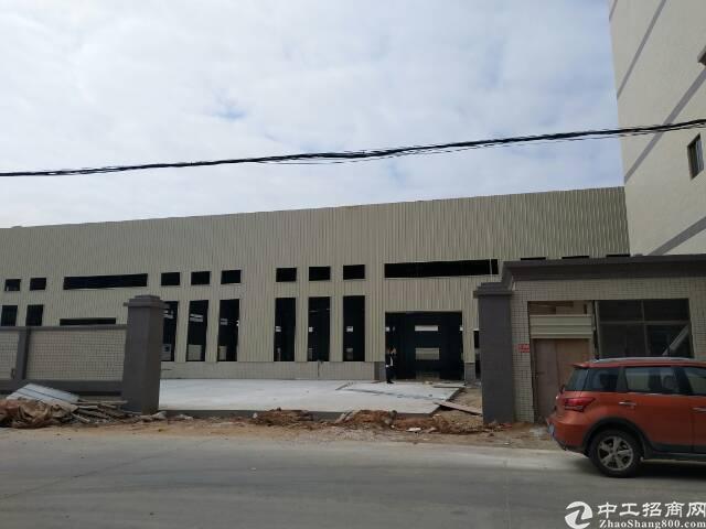 主干道边上全新独院高大上单一层钢构带牛角低价出租