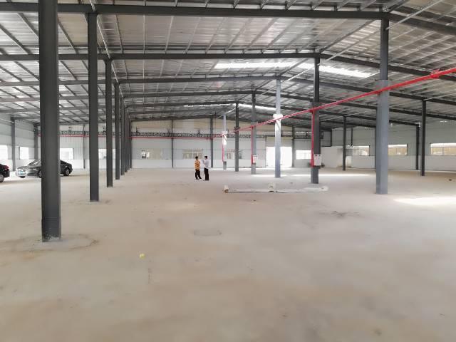 黄江镇邻近深圳公明新出钢结构厂房1250平方出租