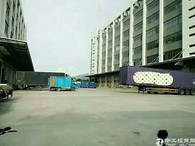 福永G4高速出口新出原房东六层标准物流仓库18000平米带卸