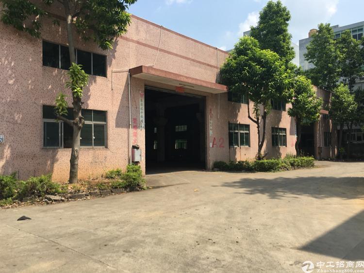 凤岗镇金凤凰独立钢结构厂房1900平方米带行车水电出租