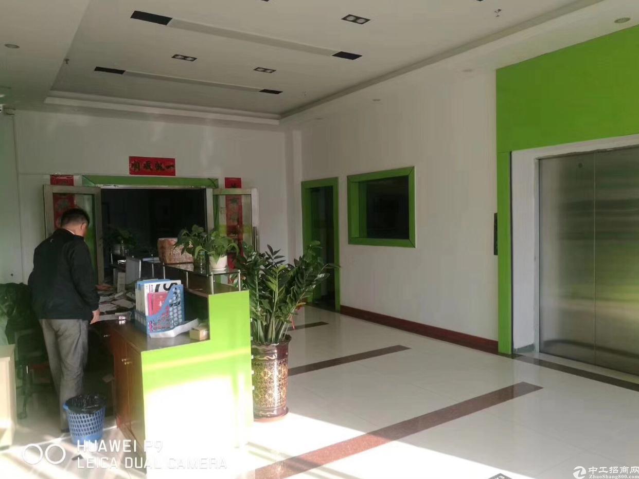 布吉上李朗3-4楼34000平方可以分租带装修