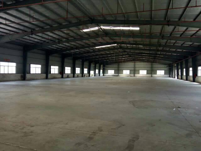 坑梓龙田钢构厂房4300分租,可做污染