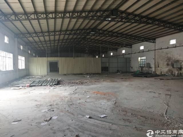 万江石美独门独院单一层厂房2500平米租19