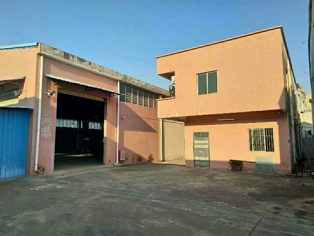 原房东独门独院厂房出租,厂房2000平方米,