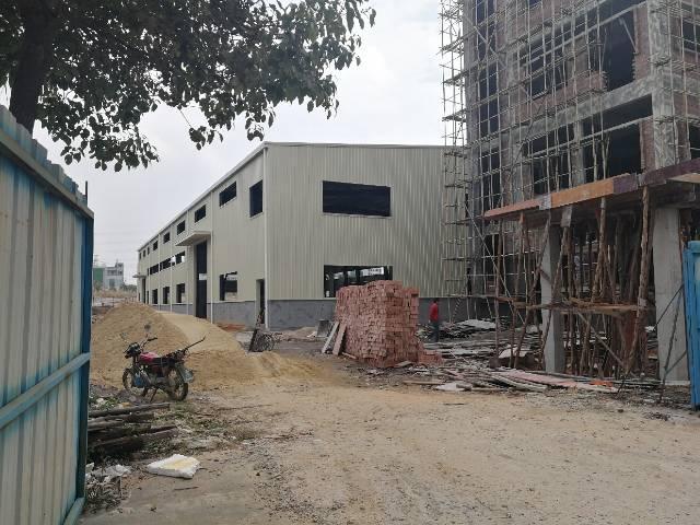 原房东独院新建钢构厂房出租2000平方