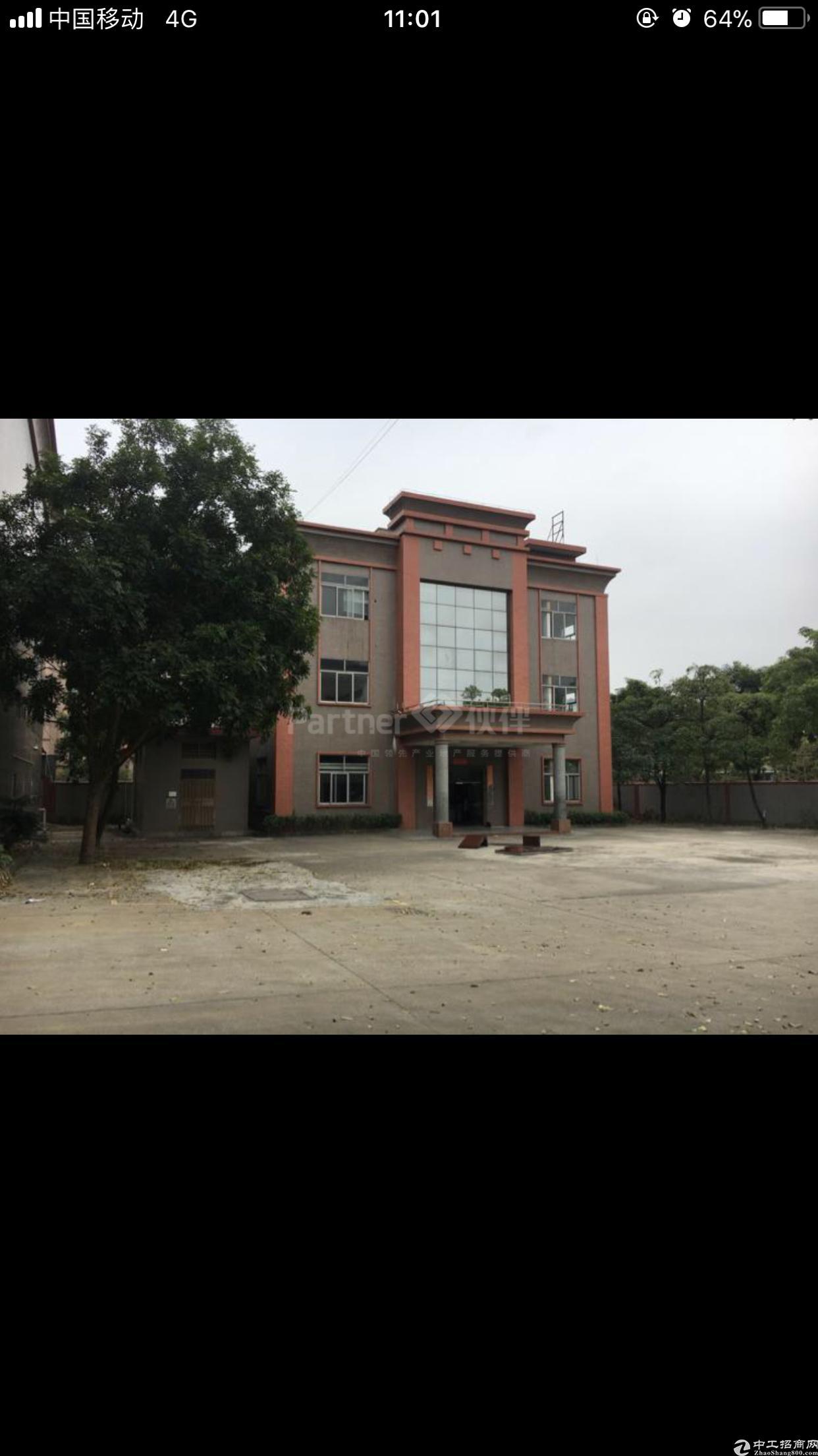 万江原房东工业园分租一栋3000平米
