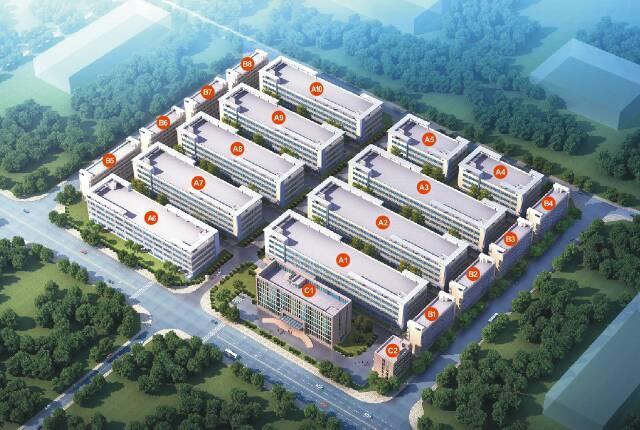 大型产业园独栋厂房出租