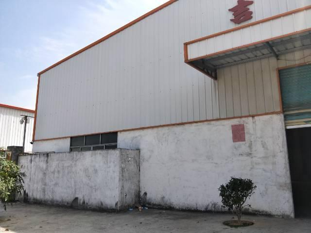 企石镇独门独院单一层滴水7米钢构厂房出租