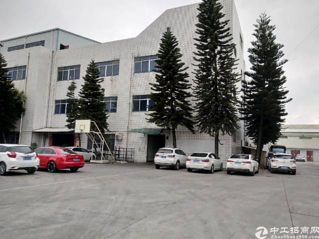 横沥镇工业区内有地坪漆带现成办公室二楼1150平方出租