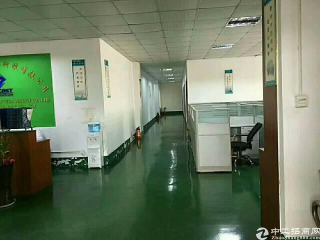 出租福永宝安大道附近工业园区1500平米电子厂房出租
