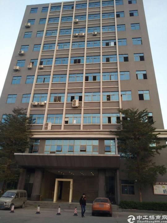 沙井地铁口边楼上新出整层1500平带精装修厂房出租