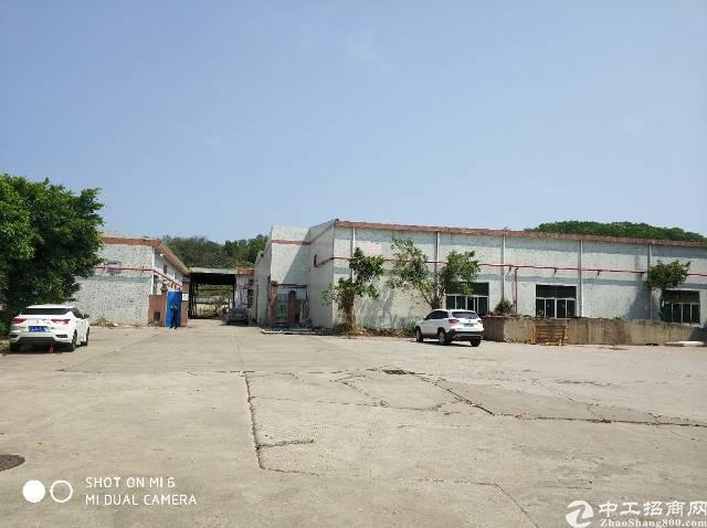 龙岗坪地独院钢构厂房6500平米,六米高,空地大