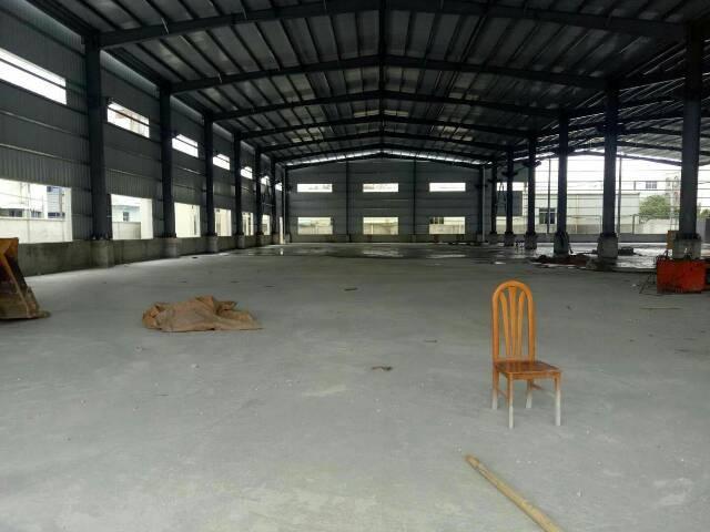 企石全新钢构分租一栋5000平方,(高度10米带牛角)