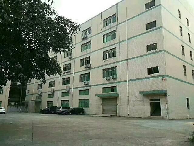 横岗标准厂房一楼高度五米五一千平方厂房出租。