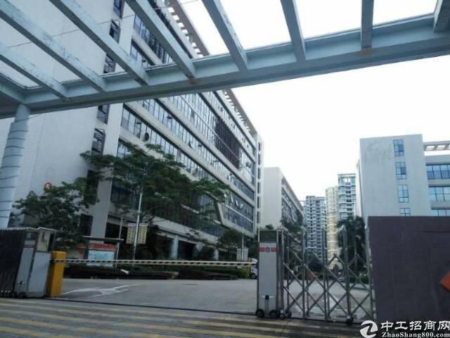 坪山大工业区红本厂房4-7层共7200单层1800可分