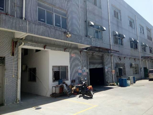 横沥镇上车岗村附近精致独院标准厂房一楼招租800㎡