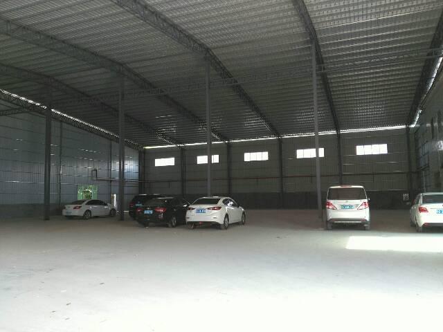 万江总站附近独院新建单一层钢构厂房