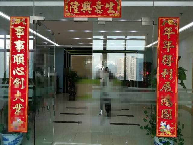 沙井高速出口新出精装厂房2700平方出租