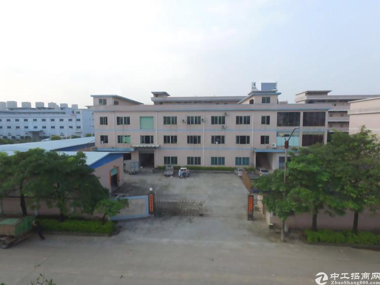 常平镇镇中心附近1300平方带办公室标准一楼厂房出租