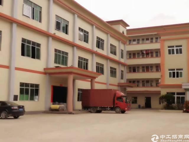大朗镇刚出原房东9成新独院标准厂房