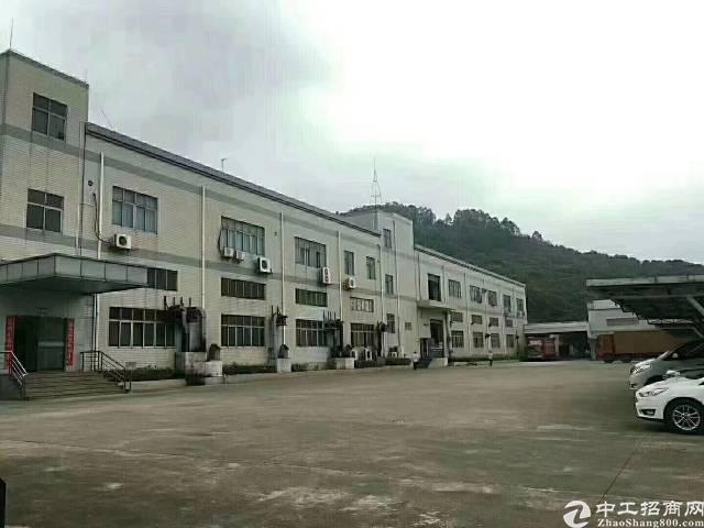 深圳宝安松岗独门独院红本厂房,两幢两层,一幢10000平方米
