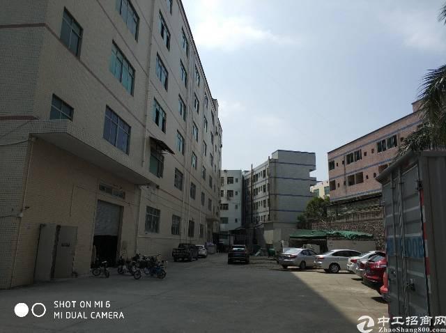 龙岗坪地一楼6米高标准厂房1500平米