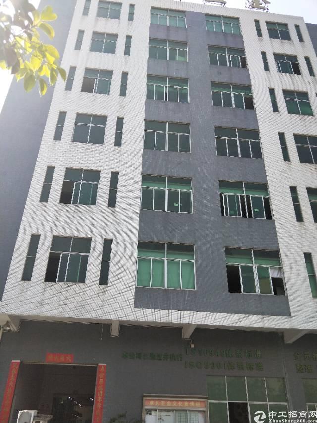 沙井大王山二工业区楼上一整层带精装修实际面积1000平方出租