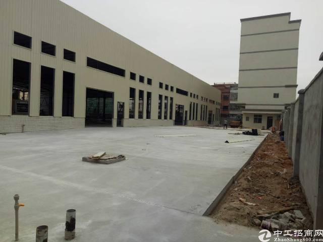 企石镇独院单一层钢构带牛角厂房5980平方滴水10米