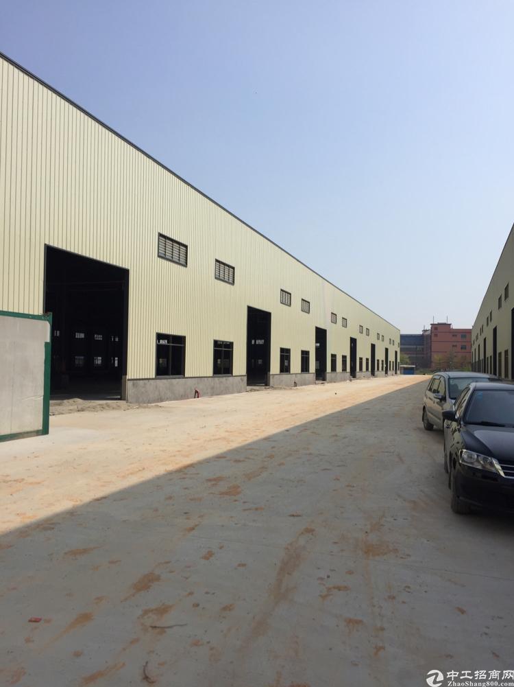 横沥镇钢构厂房出租空地超大12000平方