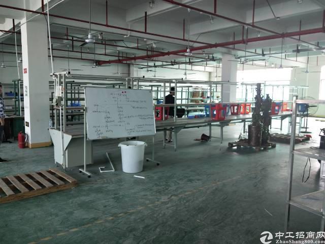 沙井大王山二工业区楼上一整层带精装修实际面积1000平方出租-图6